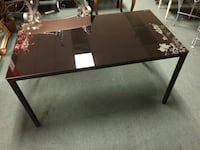 Black Glass Top Dining Table  Vancouver, V5N 2R6