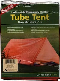 Brand new Coghlans Tube Tent For 2 Persons New Westminster