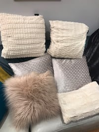 6 throw pillows Toronto, M6H 1M1