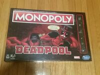 Limited Edition Deadpool Monopoly Board game  Toronto, M3K 1S9
