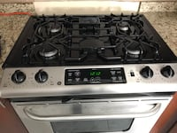 Gas stove New just 3 month old working good its new  Brampton, L6Y 4R5