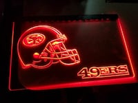 San Francisco 49ers lighted sign San Antonio, 78223