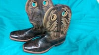 Men's Ariat Boots size 9.5 never worn Tuttle, 73089