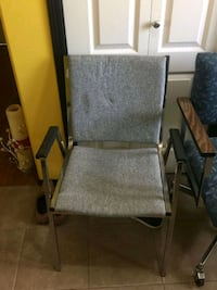 2 grey chairs Grande Prairie
