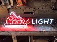 Neon and LED bar signage