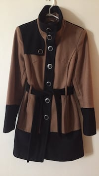 Women's black and brown trench coat Vancouver, V6B 2K7