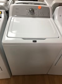 Maytag white top load washer 47 km