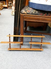 Vintage Wood Wall Shelf for Miniatures Hanging Mississauga, L4X 1S2