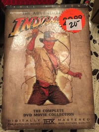 Indiana Jones box set Surrey, V4N 6K6