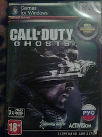 Call of Duty Ghosts PS3 игровой футляр
