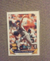 Dave Fleming Baseball Card Decatur, 62526