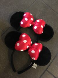 Red and black Minnie Mouse ears Laguna Niguel, 92677
