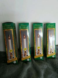 Electric candles for the window with electric eye