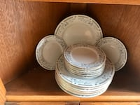 China 8 servings ( plates and small plates) Guilford Hills, 17202