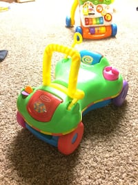 children's green, yellow, and red Playskool ride-on toy St Charles, 63303