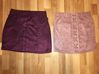 Velour high wasted skirts Langley, V3A 8N7