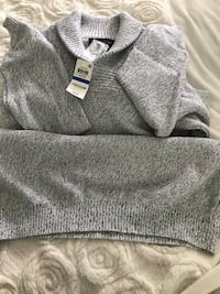Gray and white knit textile Allentown