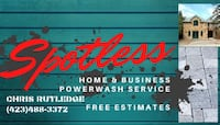home and business power wash service Chattanooga