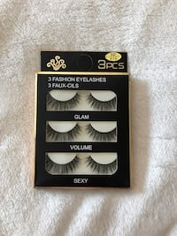 Full strip soft false eyelashes Toronto, M9W 4H4