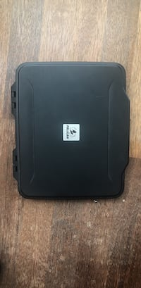 Pelican 1065 waterproof iPad case . Can be used for other things .  Toronto, M6S