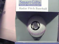 Radar Pitch .Baseball, Like New, For Sale $10   Box And Baseball Are Like New  (OC) WE Can Meet For You To Check It Out.   God Bless You. FAYETTEVILLE