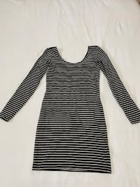 Striped Bodycon Dress Size Small Guelph, N1L