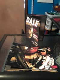 Dale Earnhart tin with discs.