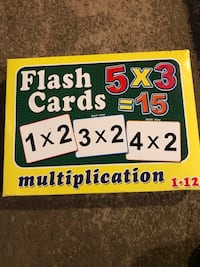 Multiplication flash cards North Potomac, 20878