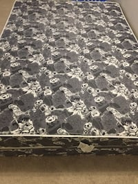 Black and white floral mattress London, N6H 4S2