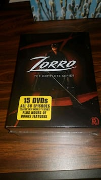 Zorro the complete series 88 episodes  Vaughan, L6A 1B4