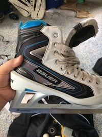 Bauer Reactor 5000 goalie skates. Great condition
