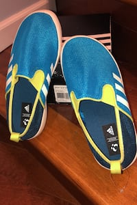 J4 Adidas Boat Slip on shoes