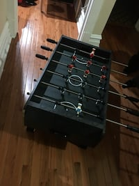 Black and brown foosball table Chicago, 60641