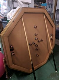 3in1 Table - Bumper pool , Poker, Dining  Howell, 07731