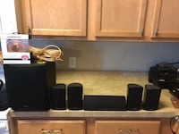 Surround sound speaker w/ stands Chesapeake, 23322