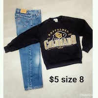 Levis kids size 8 Roy