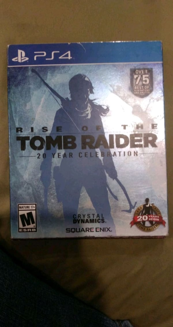 Used Rise Of The Tomb Raider 20 Year Celebration Special Edition