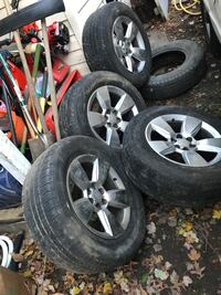Tires are not good just selling the rims take everything Alexandria, 22310