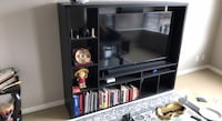 Black wooden TV Stand Vancouver, V6B 2B9