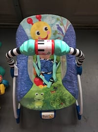 Baby's green and blue bouncer Merced, 95348