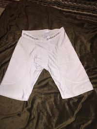 white Worth shorts