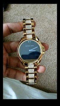 Gold Michael kors digital watch Indianapolis, 46226
