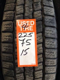Great set of used Goodyear Nordic Winter Tires 225/75/15 Toronto, M1P 2B3
