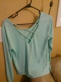 women's teal scoop-neck shirt Asheville, 28803