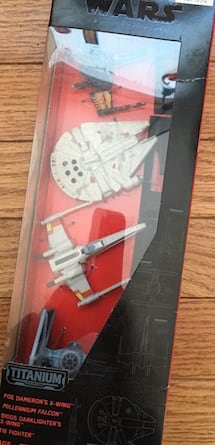 Star Wars unopened