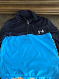 blue and black Under Armour zip-up jacket Hooksett, NH, USA