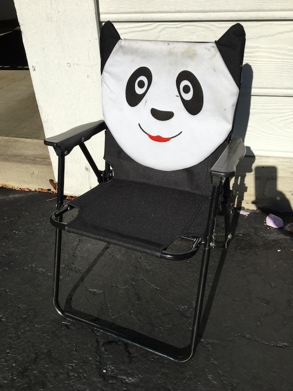 Amazing Used Kids Panda Folding Chair For Sale In Blacklick Letgo Gmtry Best Dining Table And Chair Ideas Images Gmtryco