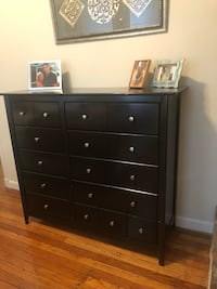black wooden 6-drawer dresser Washington, 20005