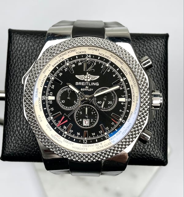Breitling Bentley GMT Special Edition XL 49mm 353ad801-6f6c-4d5a-8646-13ed756425e3