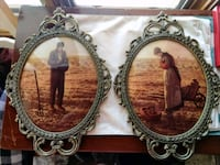 Vintage portraits of a man and woman on a farm Gambrills, 21054